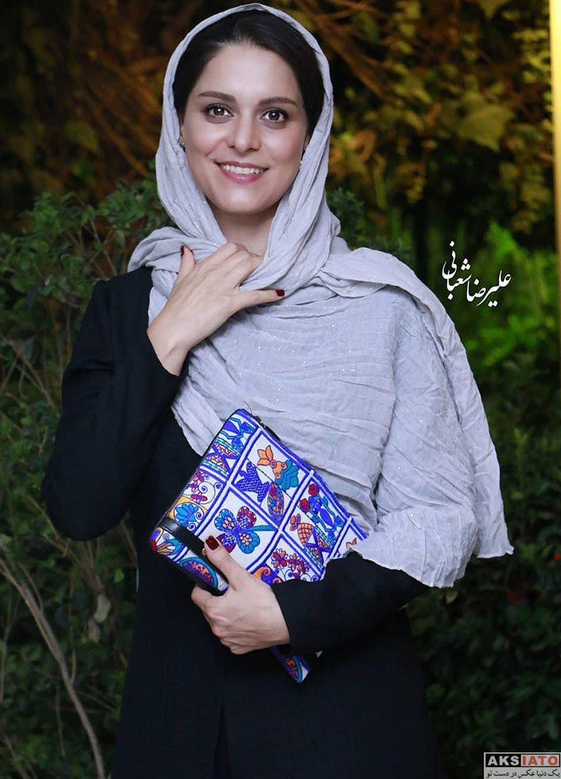 بازیگران بازیگران زن ایرانی  غزل شاکری در اولین دوره آکادمی سینما سینما (8 عکس)
