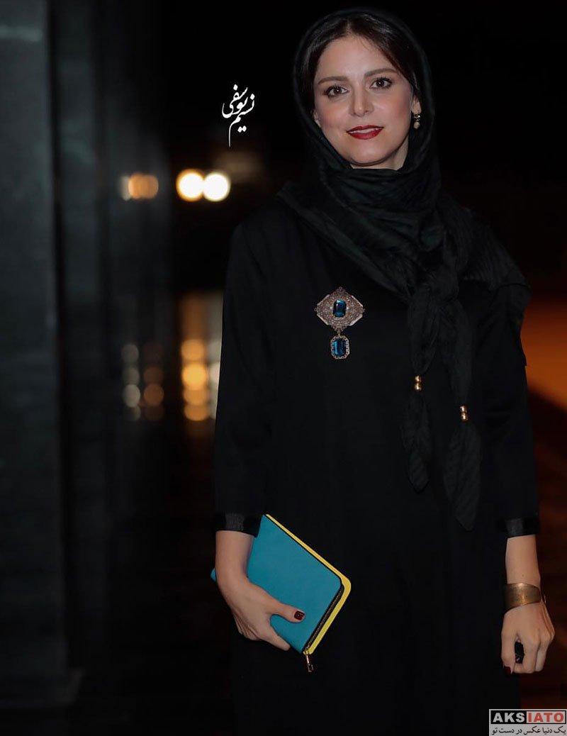 بازیگران جشن سینمای ایران  غزل شاکری در بیستمین جشن خانه سینما (6 عکس)