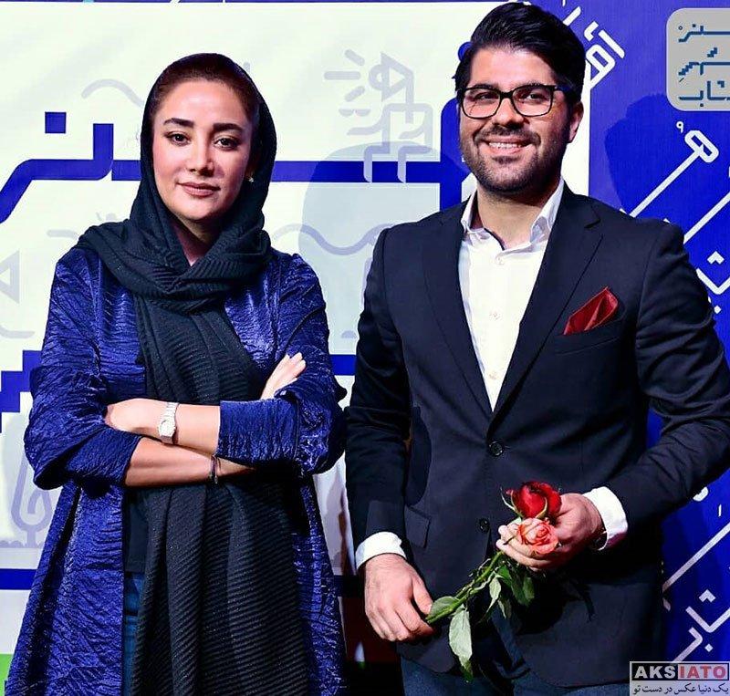 خوانندگان  حامد همایون و بهاره افشاری در اکران مستند سریک (4 عکس)