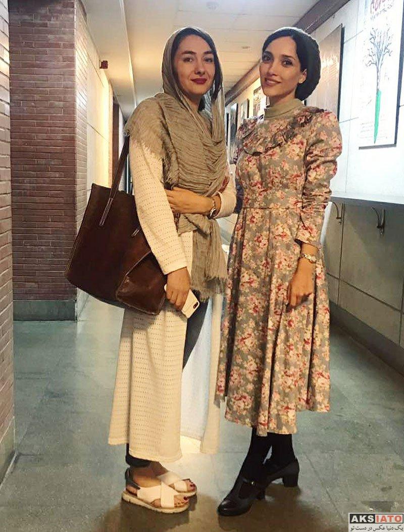 بازیگران بازیگران زن ایرانی  عکس های هانیه توسلی در شهریور ماه 97 (8 تصویر)