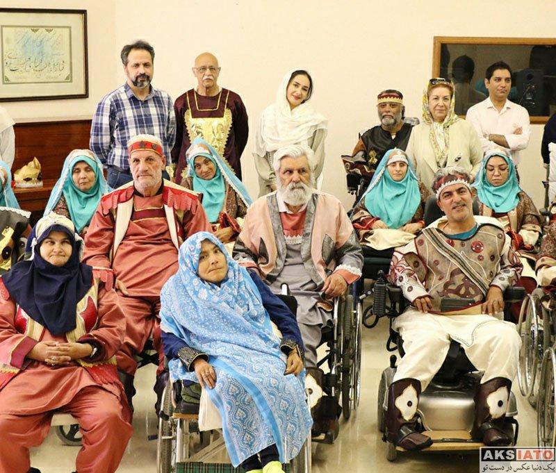 بازیگران بازیگران زن ایرانی  هانیه توسلی در خانواده بزرگ کهریزک (4 عکس)