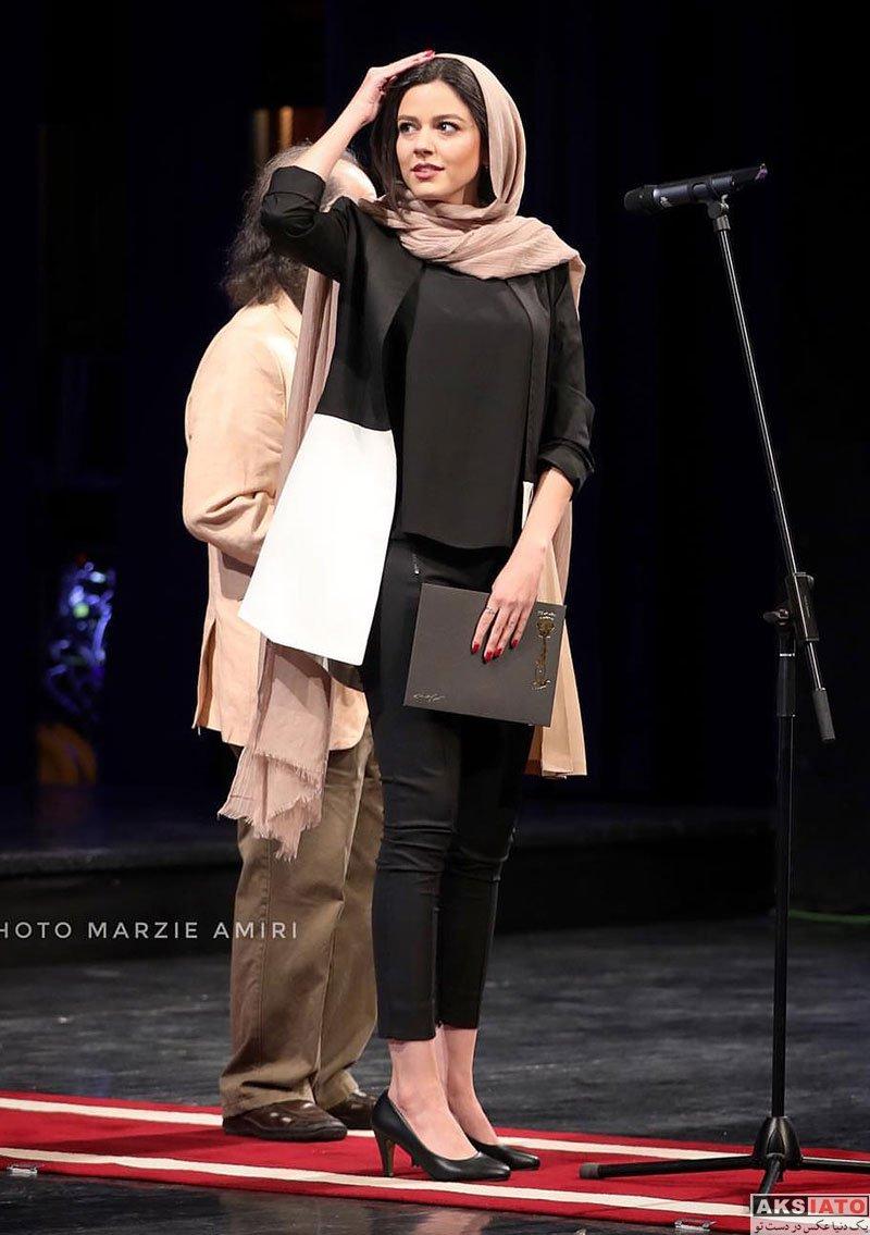 بازیگران جشن سینمای ایران  ماهور الوند در بیستمین جشن خانه سینما (6 عکس)