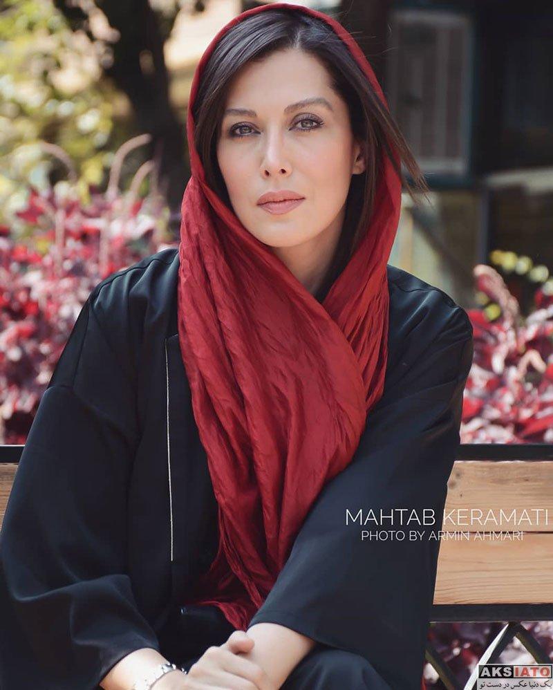 بازیگران بازیگران زن ایرانی  مهتاب کرامتی در مراسم رونمایی از پوستر فیلم جاده قدیم (8 عکس)