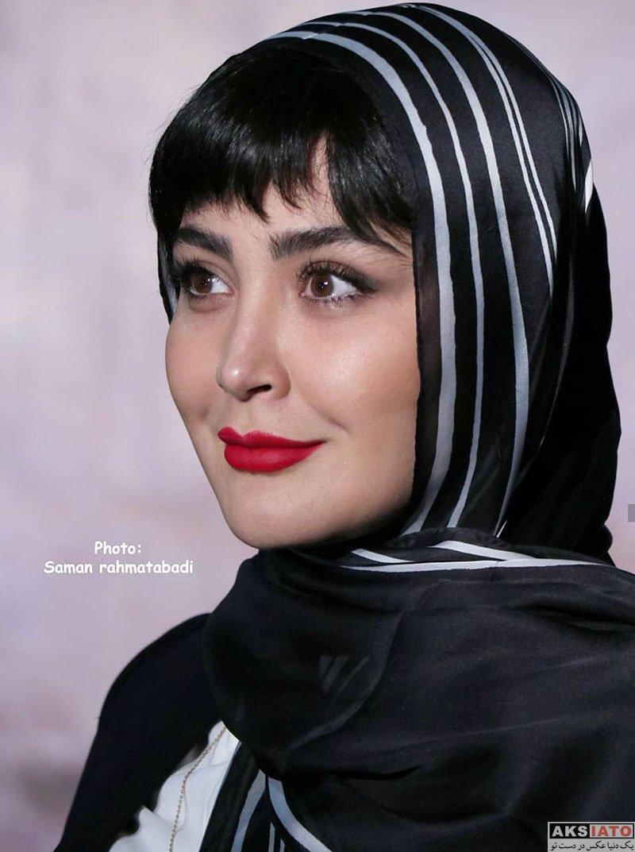 بازیگران بازیگران زن ایرانی  مریم معصومی در اکران خصوصی فیلم شعله ور (6 عکس)