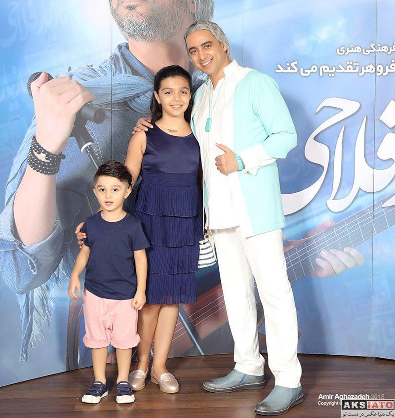 بازیگران بازیگران زن ایرانی  مازیار فلاحی و دخترش باران در کنسرت شهریور 97 (2 عکس)