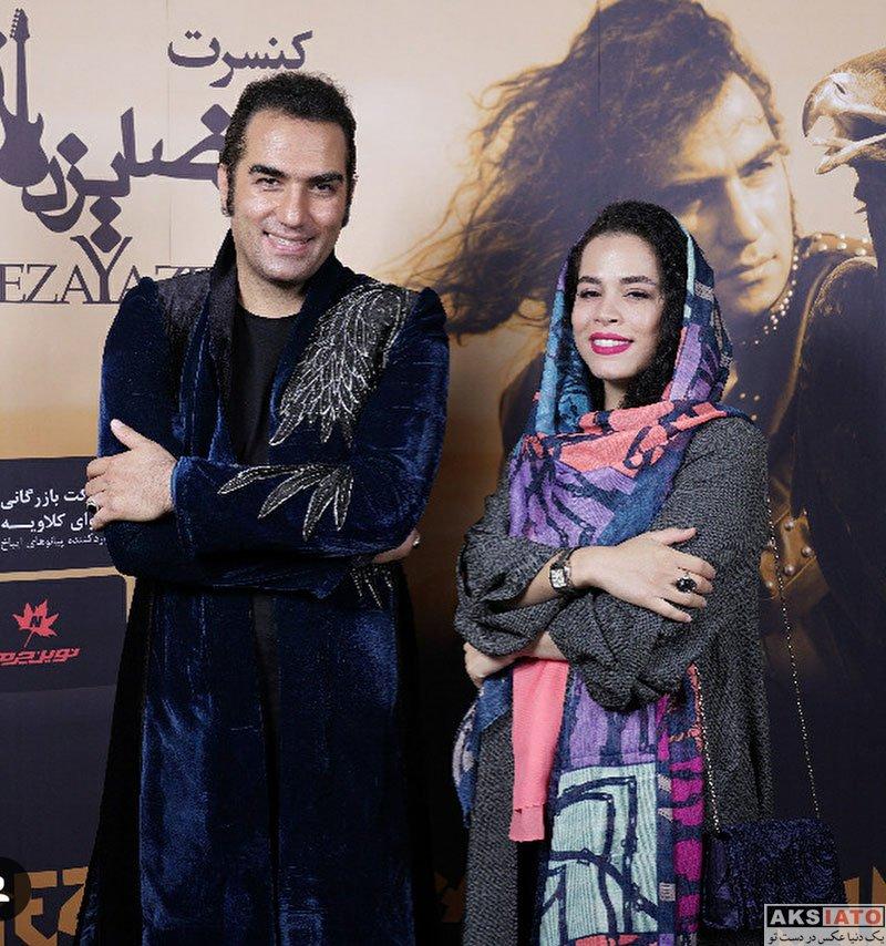 بازیگران بازیگران زن ایرانی  ملیکا شریفی نیا در کنسرت رضا یزدانی (2 عکس)