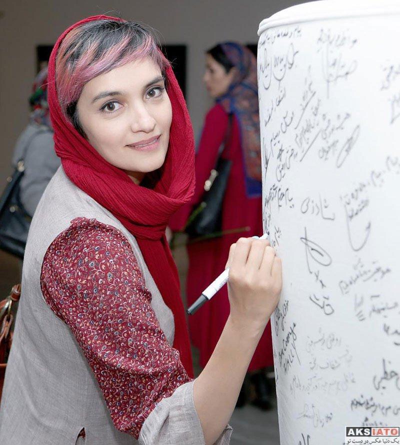 بازیگران بازیگران زن ایرانی  عکس های میترا حجار در شهریور ماه 97 (6 تصویر)