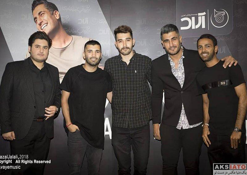 ورزشکاران ورزشکاران مرد  محسن مسلمان در کنسرت شهاب مظفری (2 عکس)