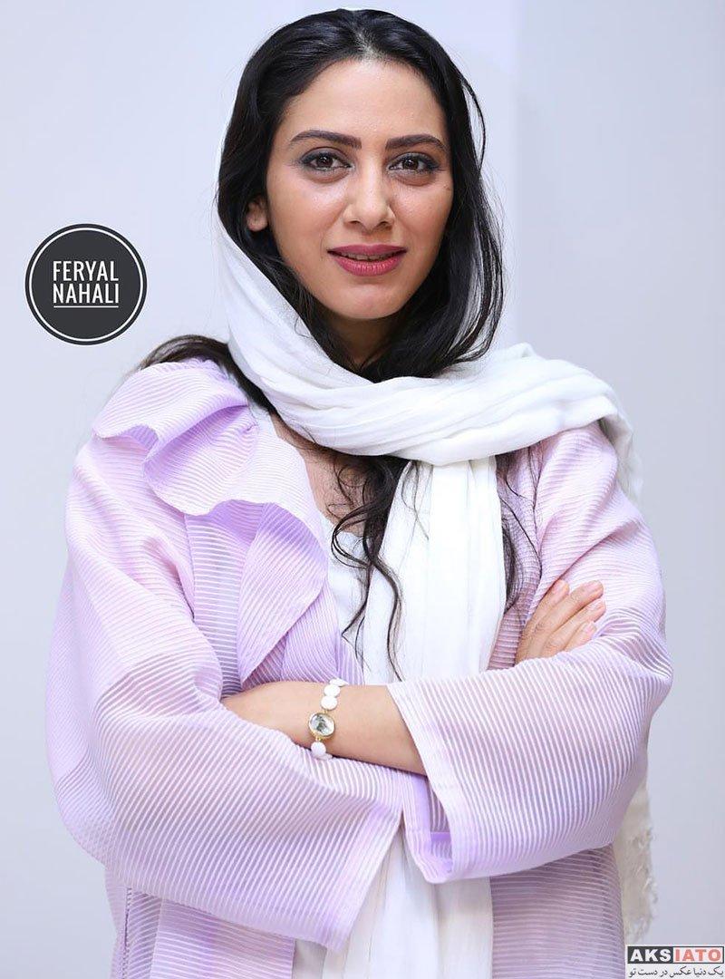 بازیگران بازیگران زن ایرانی  مونا فرجاد در چهارمین جشن عکاسان سینمای ایران (۵ عکس)