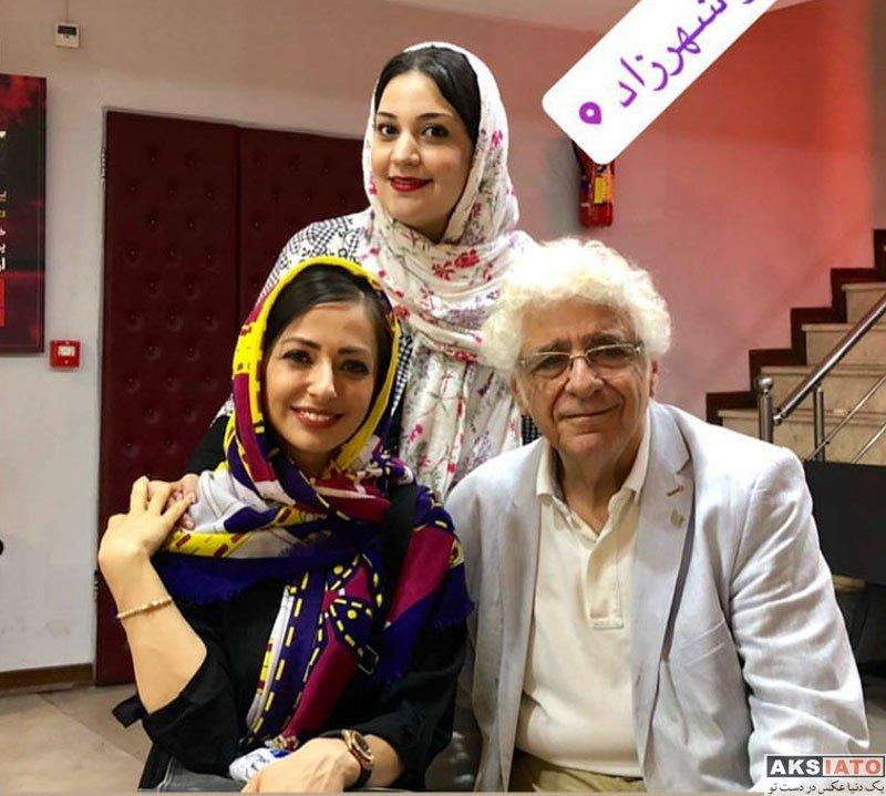 بازیگران بازیگران زن ایرانی  عکس های نفیسه روشن در شهریور ماه 97 (8 تصویر)