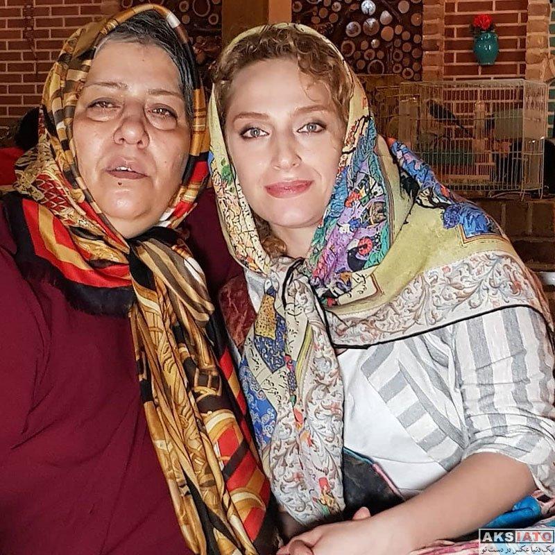 بازیگران بازیگران زن ایرانی  عکس های نگین معتضدی در شهریور ماه 97 (8 تصویر)