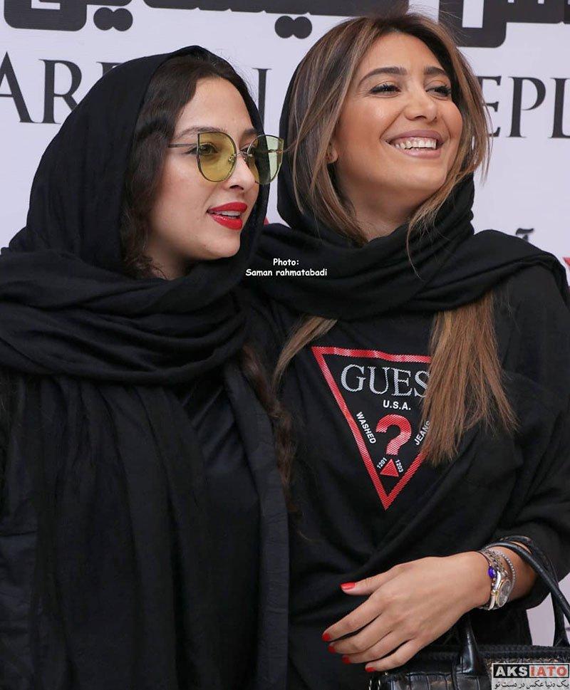 بازیگران بازیگران زن ایرانی  نیکی مظفری در اکران فیلم آخرین بار کی سحر را دیدی (8 عکس)