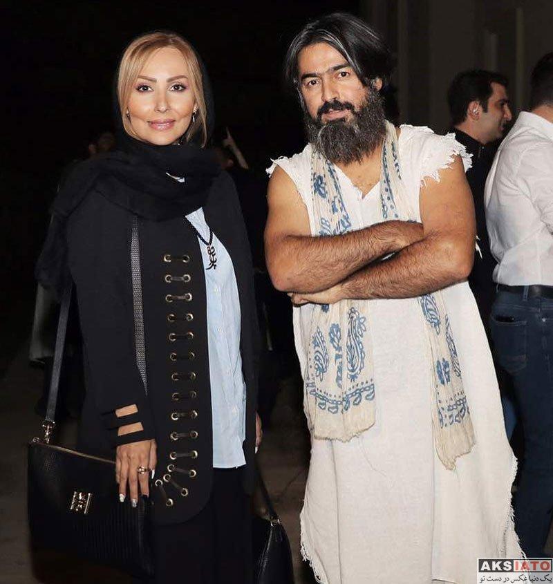 بازیگران بازیگران زن ایرانی  پرستو صالحی در کنسرت پرواز همای و گروه مستان (۳ عکس)