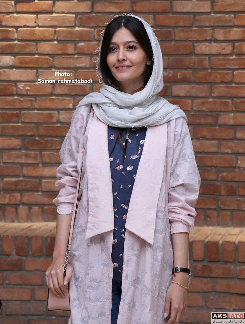 بازیگران بازیگران زن ایرانی  پردیس احمدیه در اکران خصوصی فیلم شعله ور (5 عکس)