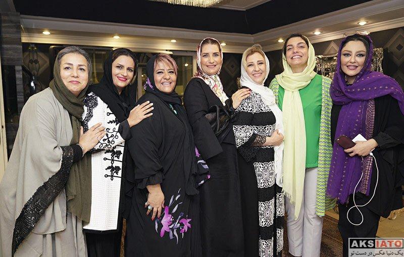 بازیگران بازیگران زن ایرانی  شقایق فراهانی در جشن تولد اکبر عبدی (۳ عکس)
