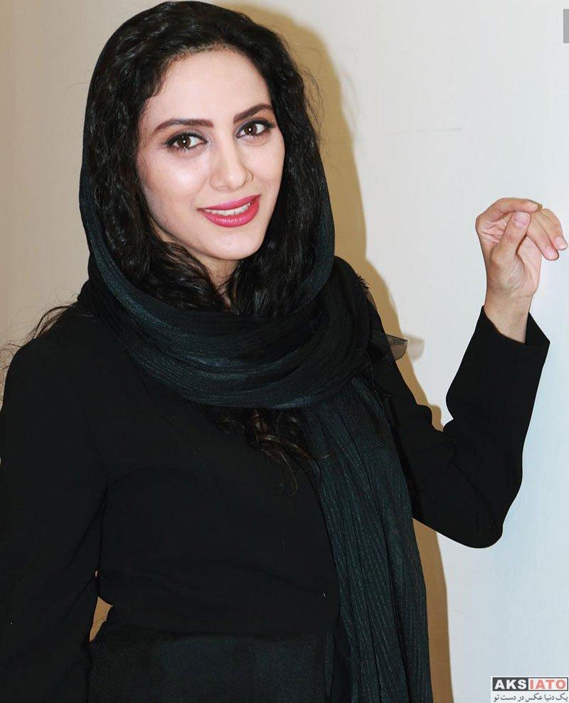 بازیگران بازیگران زن ایرانی  مونا فرجاد در کنسرت نمایش بگو کجایی (۴ عکس)