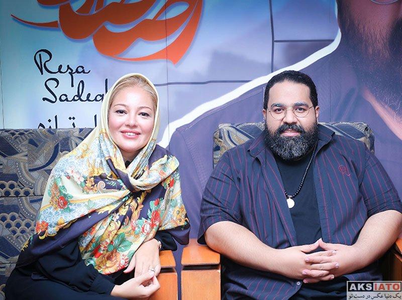 بازیگران بازیگران زن ایرانی  رزیتا غفاری در کنسرت رضا صادقی (2 عکس)
