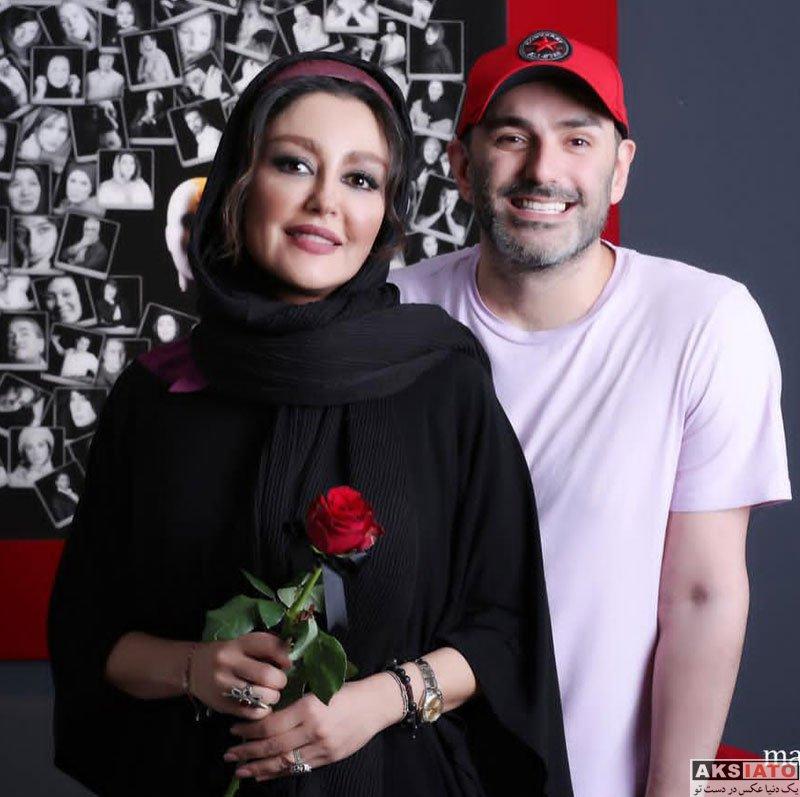 دستهبندی نشده  شقایق فراهانی در افتتاحیه نمایشگاه عکس پیام ایرائی (2 عکس)