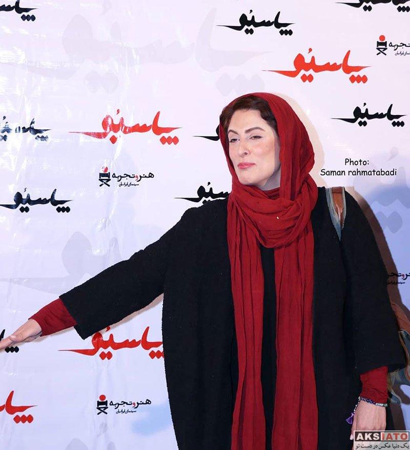 بازیگران بازیگران زن ایرانی  بهناز جعفری در اکران خصوصی فیلم پاسیو (2 عکس)