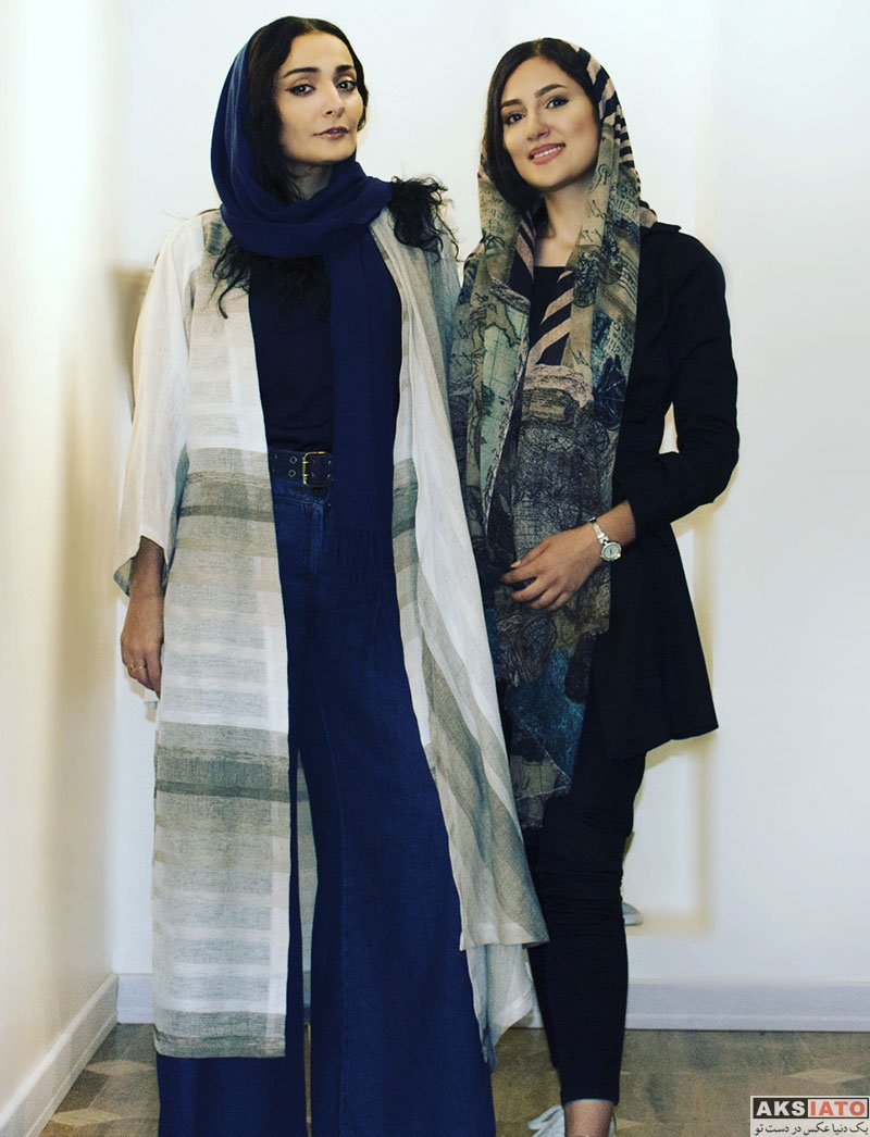 بازیگران بازیگران زن ایرانی  رونمایی السا فیروز آذر از تیپ و لباس جدیدش (3 عکس)