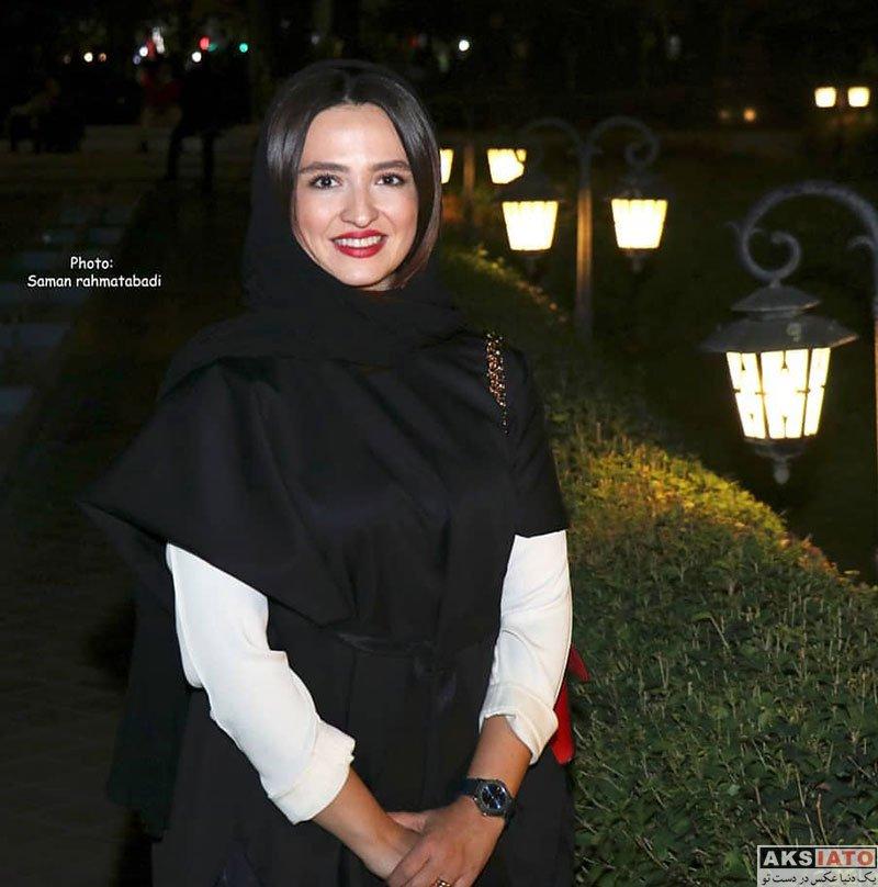 بازیگران بازیگران زن ایرانی  گلاره عباسی در اکران خصوصی فیلم پاسیو (4 عکس)