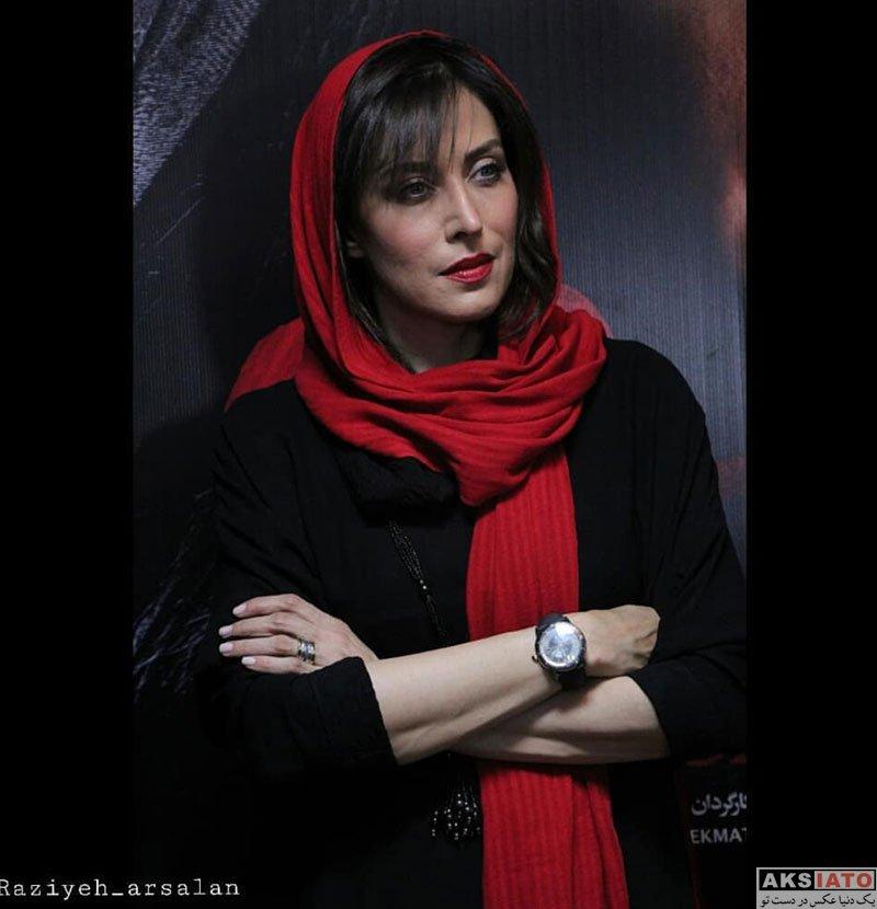 بازیگران بازیگران زن ایرانی  تصاویر مهتاب کرامتی در اکران مردمی فیلم جاده قدیم
