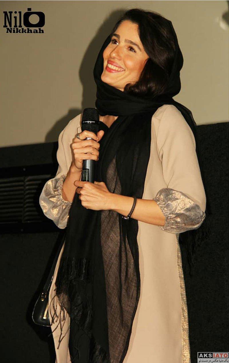 بازیگران بازیگران زن ایرانی  مرجان اتفاقیان در اکران مردمی فیلم مغزهای کوچک زنگ زده (4 عکس)