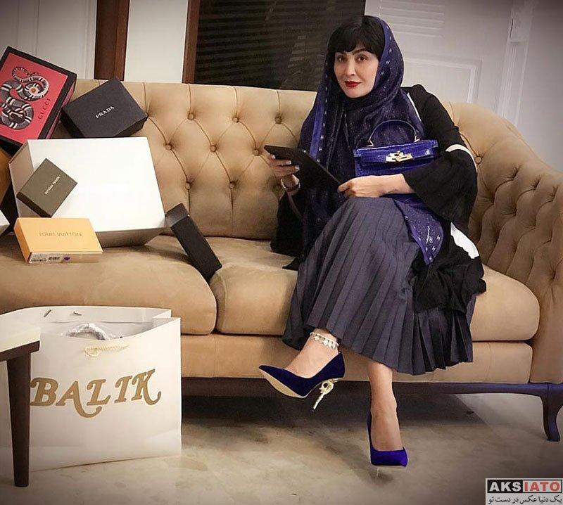 بازیگران بازیگران زن ایرانی  عکس های تبلیغاتی مریم معصومی برای برند بالیک