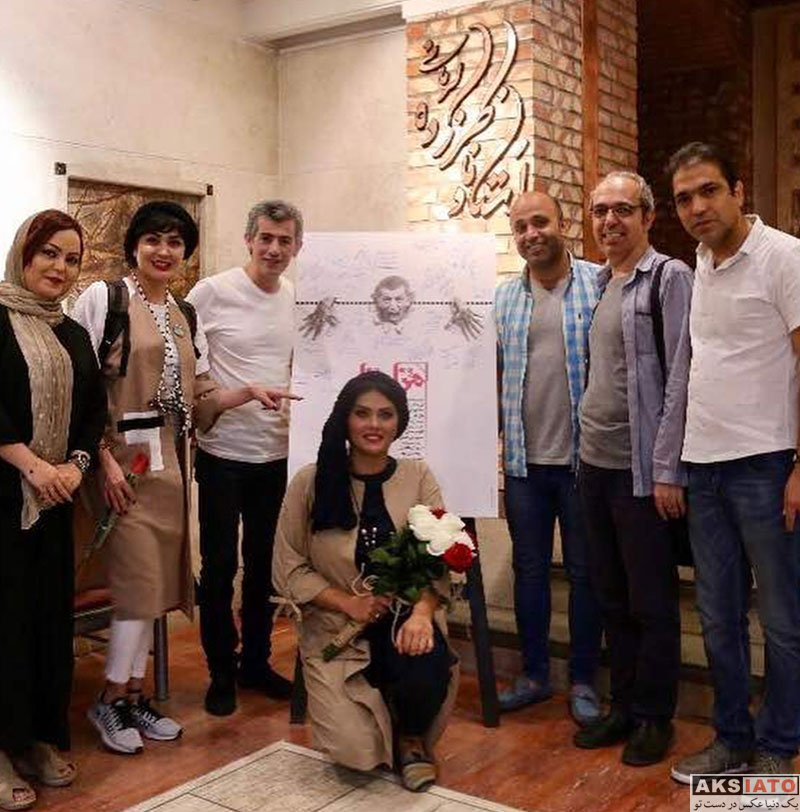 بازیگران بازیگران زن ایرانی  مریم معصومی در اجرای نمایش مزا مزا (4 عکس)