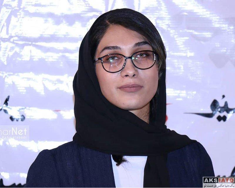 بازیگران بازیگران زن ایرانی  محدثه حیرت در اکران خصوصی فیلم پاسیو (4 عکس)