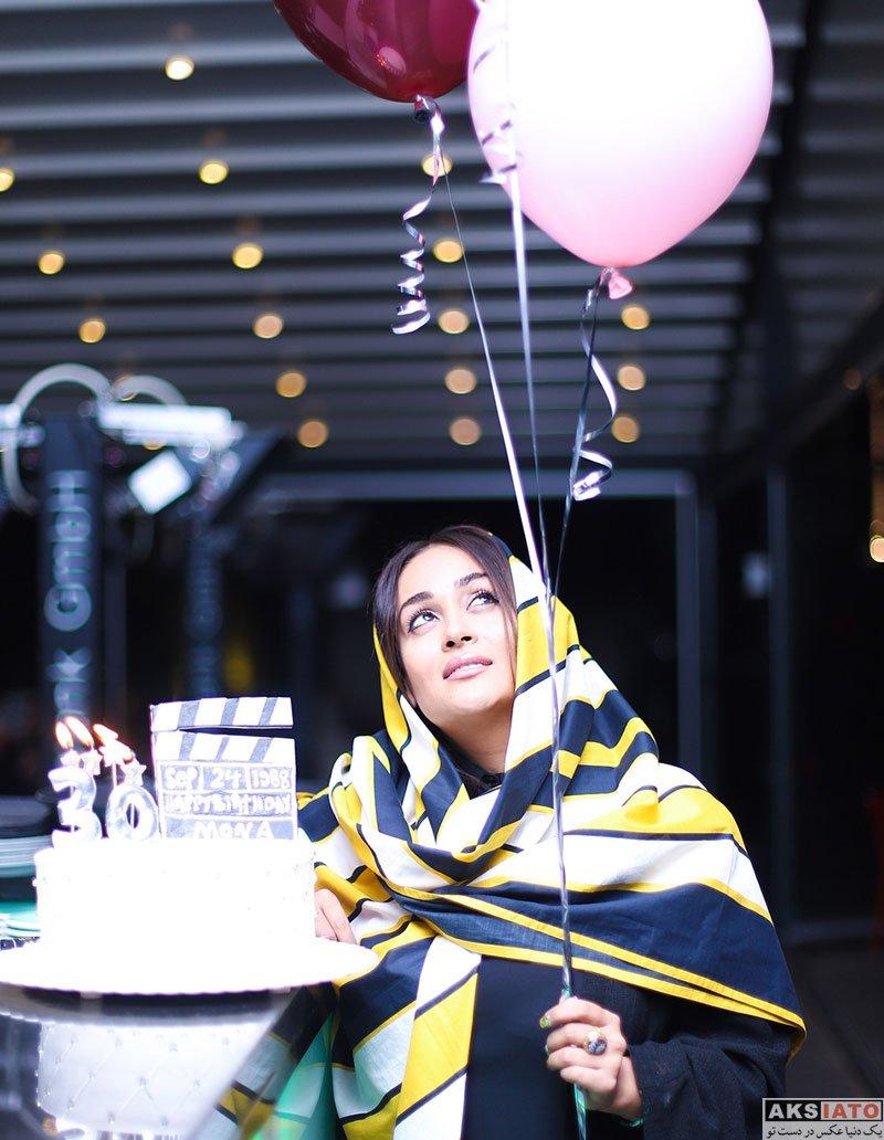 بازیگران بازیگران زن ایرانی جشن تولد ها  جشن تولد 30 سالگی مونا شناس (4 عکس)