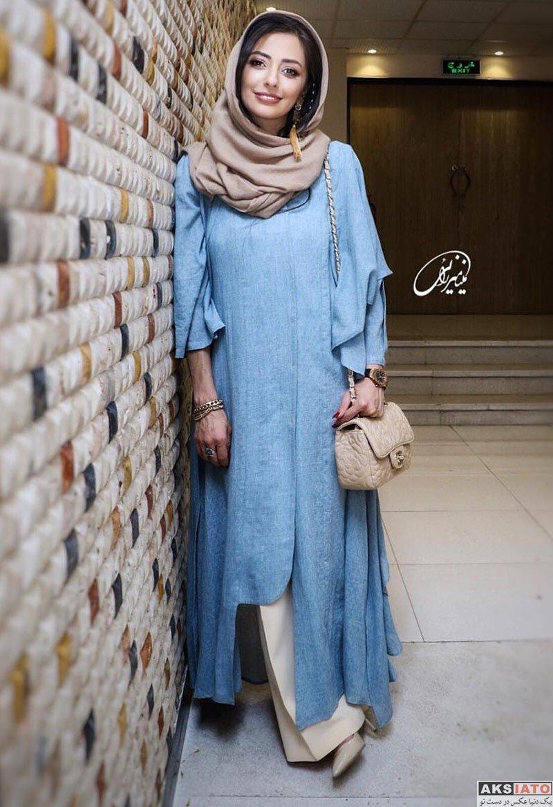 بازیگران بازیگران زن ایرانی  عکس های نفیسه روشن در اکران مردمی فیلم لازانیا