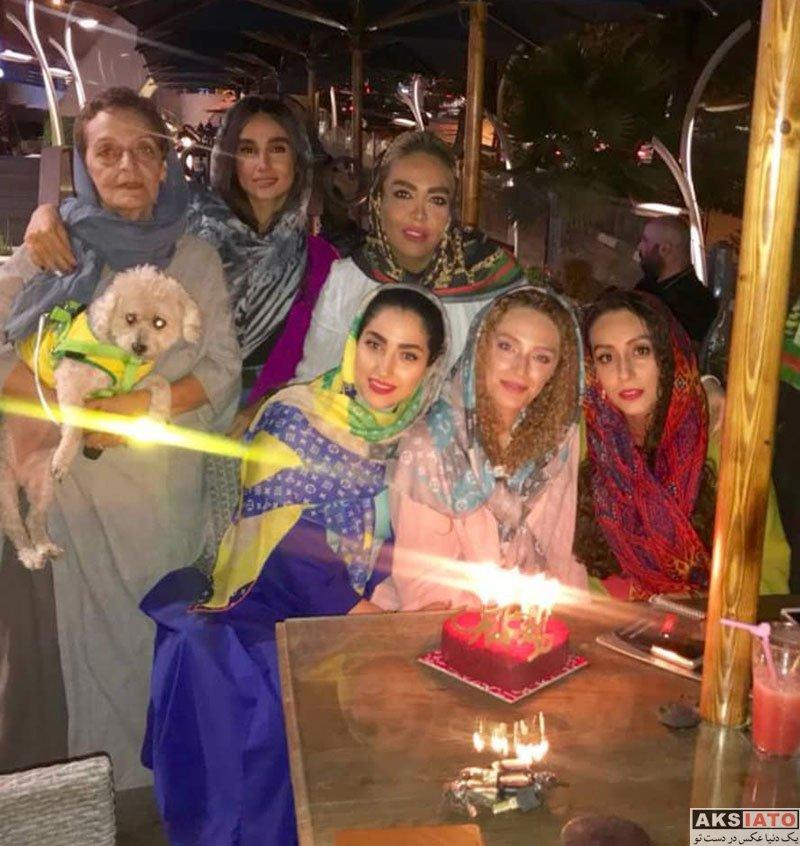 بازیگران بازیگران زن ایرانی جشن تولد ها  جشن تولد 33 سالگی نگین معتضدی (3 عکس)