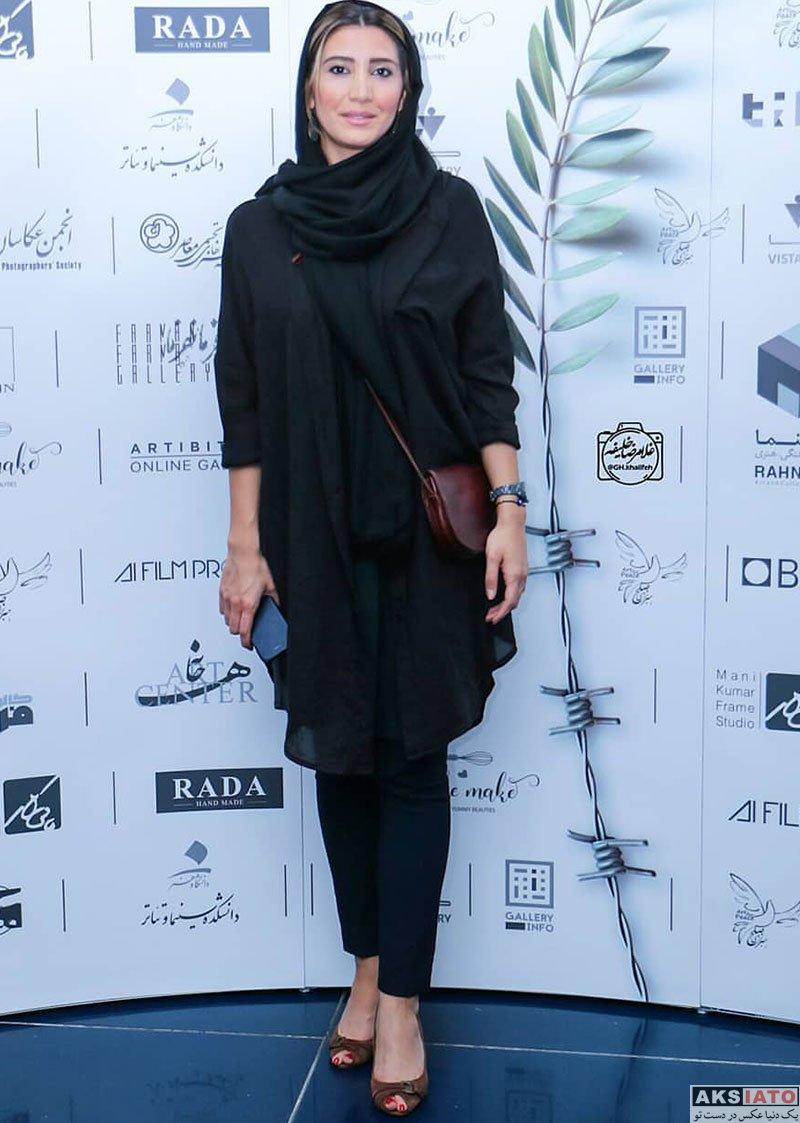 بازیگران بازیگران زن ایرانی  نیکی مظفری در جشنواره بینالمللی هنر برای صلح (2 عکس)