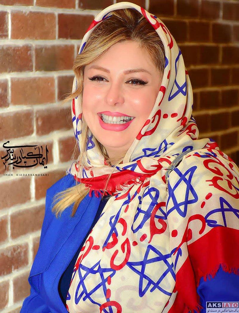 بازیگران بازیگران زن ایرانی  عکس های نیوشا ضیغمی در اکران مردمی فیلم هشتگ