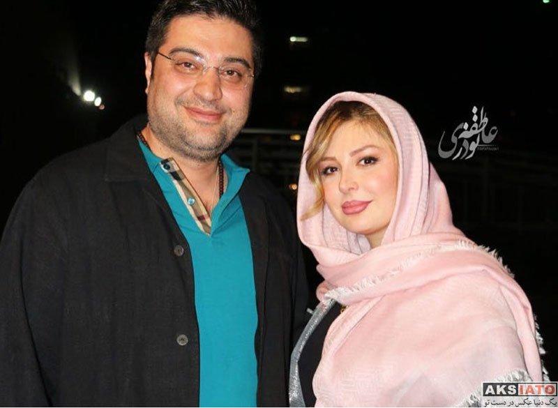 خانوادگی  نیوشا ضیغمی و همسرش در اکران فیلم هشتگ (6 عکس)