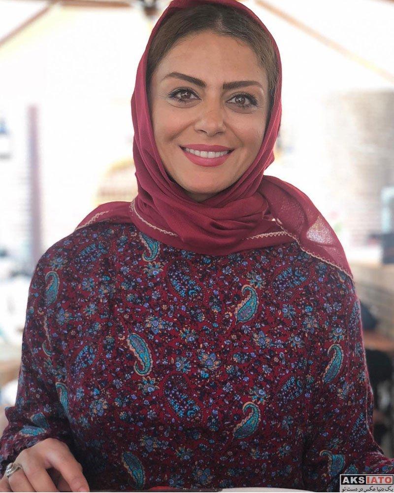بازیگران بازیگران زن ایرانی  شبنم فرشادجو با گریم قاجاری در سریال بانوی عمارت (6 عکس)
