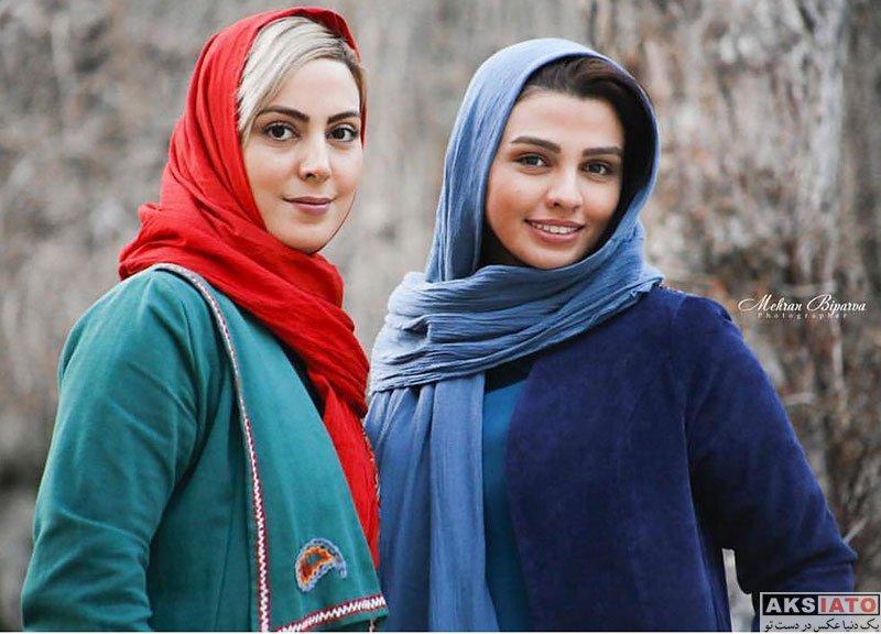 بازیگران بازیگران زن ایرانی  سیما خضرآبادی بازیگر نقش آلما در سریال بازی نقاب ها (۶ عکس)