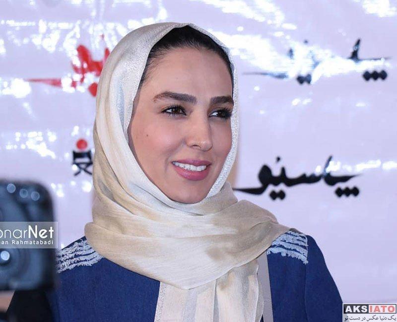 بازیگران بازیگران زن ایرانی  سوگل طهماسبی در اکران خصوصی فیلم پاسیو (۴ عکس)