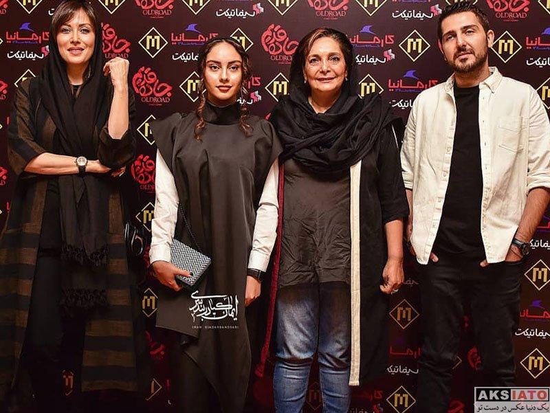 بازیگران بازیگران زن ایرانی  ترلان پروانه در اکران مردمی فیلم جاده قدیم (۸ عکس)