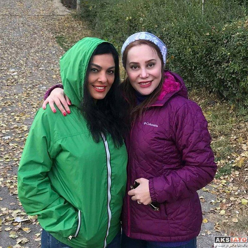 بازیگران بازیگران زن ایرانی  عکس های جدید آرام جعفری در آبان ماه 97 (8 تصویر)