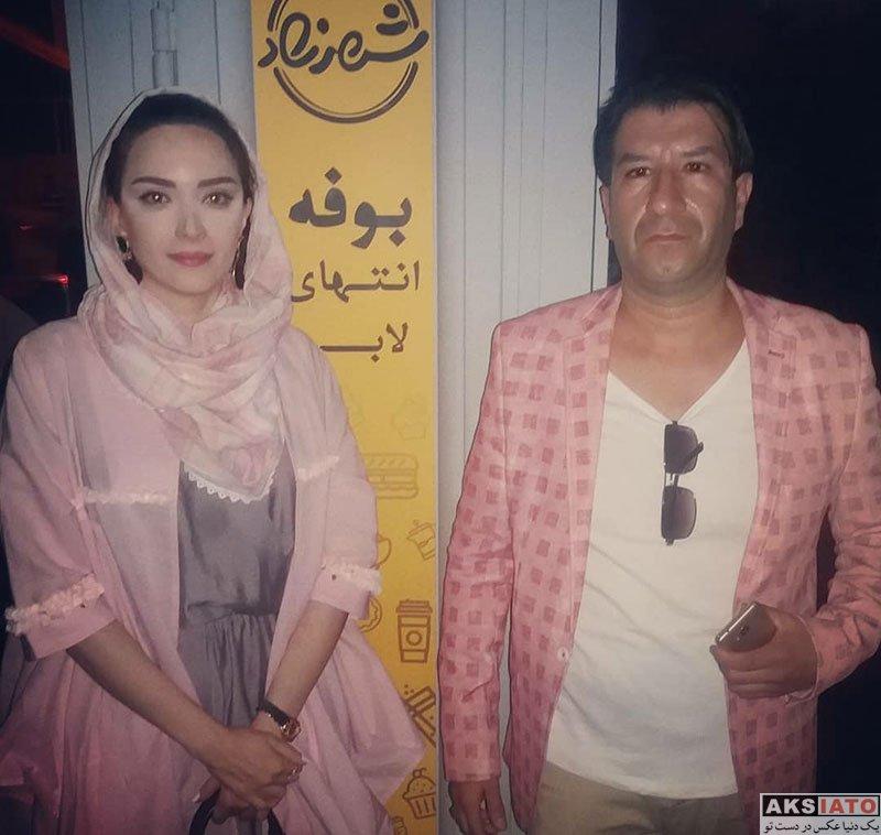 بازیگران بازیگران زن ایرانی  عکس های بهنوش طباطبایی در آبان ماه 97 (8 تصویر)