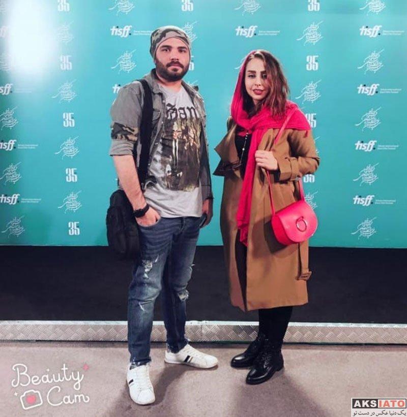 بازیگران بازیگران زن ایرانی  بیتا عالمی در سی و پنجمین جشنواره فیلم کوتاه تهران (2 عکس)