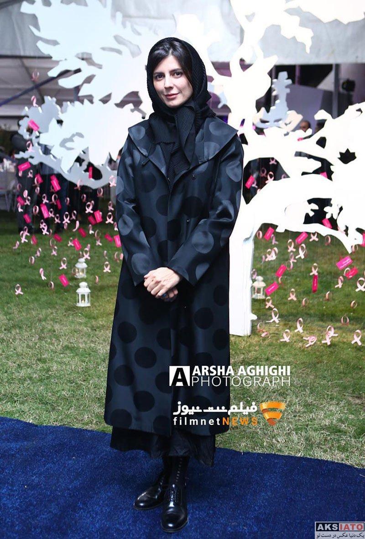 بازیگران بازیگران زن ایرانی  لیلا حاتمی در مراسم پویش ملی پیشگیری از سرطان (3 عکس)