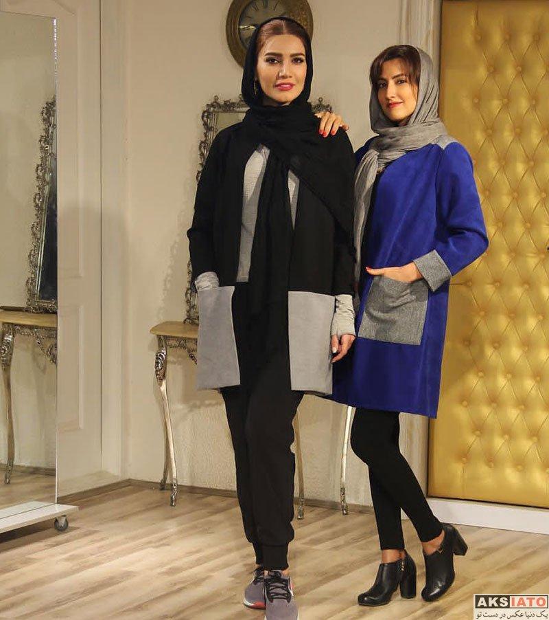بازیگران بازیگران زن ایرانی  مدلینگ متین ستوده برای مزون لباس کژین مد (4 عکس)
