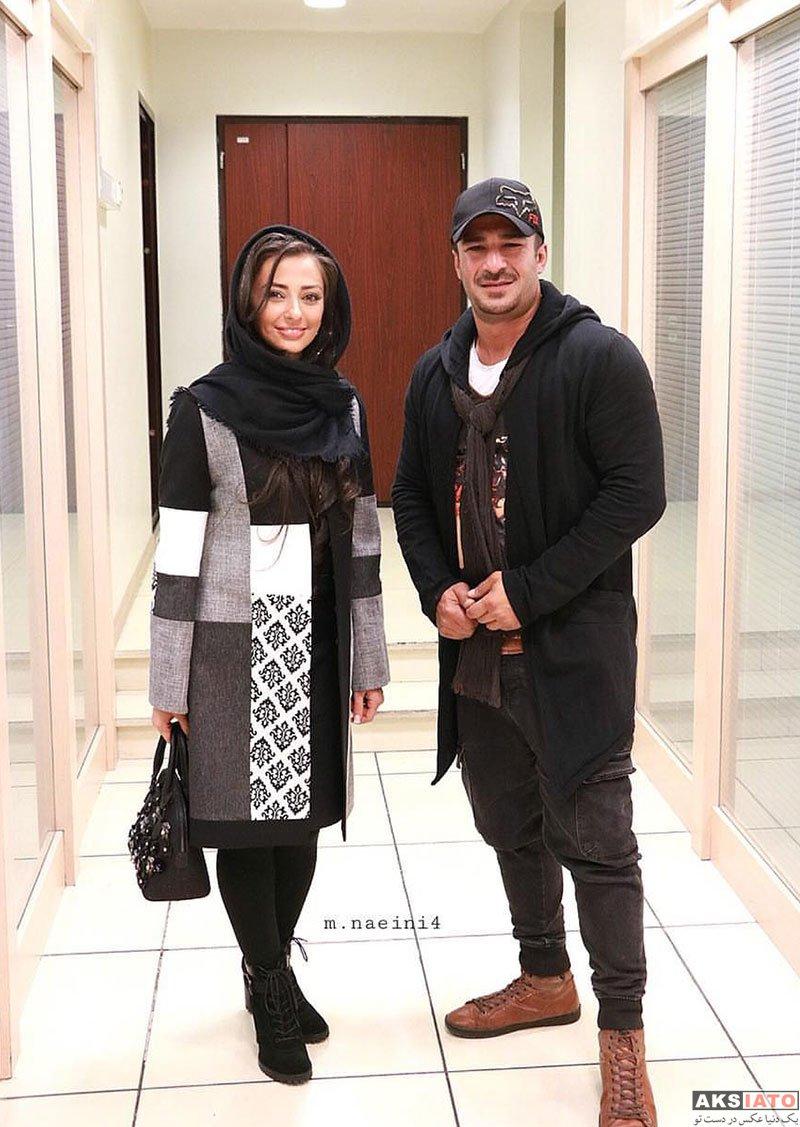 بازیگران بازیگران زن ایرانی  6 عکس نفیسه روشن در اکران مردمی فیلم لازانیا در پردیس کوروش