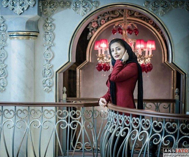 بازیگران بازیگران زن ایرانی  نفیسه روشن در رستوران عربی خیمه (4 عکس)