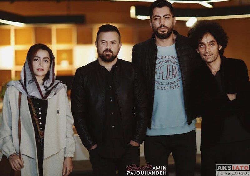 بازیگران بازیگران زن ایرانی  نازنین بیاتی در اکران فیلم مغزهای کوچک زنگ زده (4 عکس)