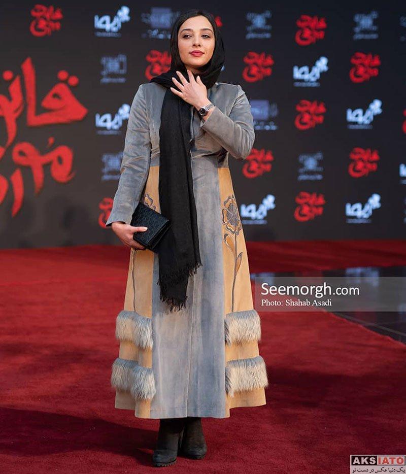 بازیگران بازیگران زن ایرانی  آناهیتا درگاهی در اکران خصوصی فیلم قانون مورفی (3 عکس)