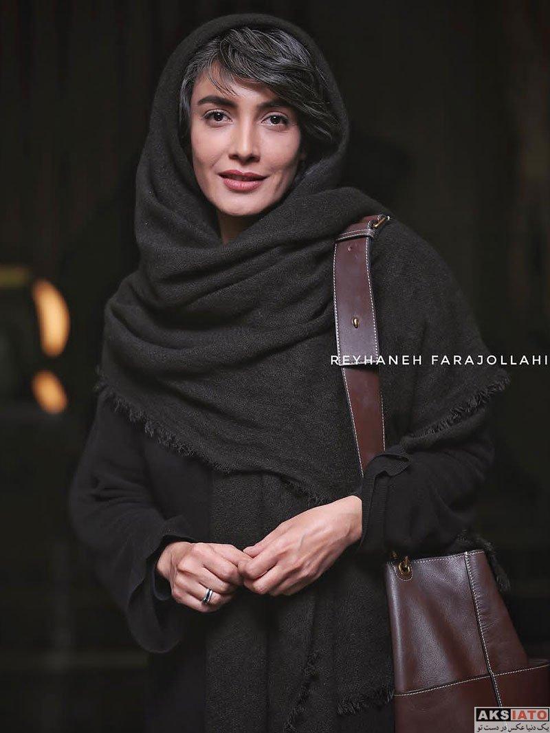 بازیگران بازیگران زن ایرانی  لیلا زارع در اکران خصوصی فیلم لس آنجلس تهران (۴ عکس)